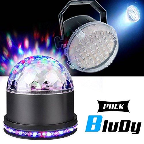 Pack Light DJ LED Sono Lichtspiele demi-sphére Astro RGB sunmagic + Effekt Superstrobe lytor 61LED White