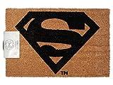 Zerbino Hollywood Alsino 40 x 60 cm, realizzato in pura fibra di cocco, fondo in gomma naturale adatto sia per fuori che dentro casa, benvenuto welcome ristorante cinema film pellicola, 14/2100 Superman