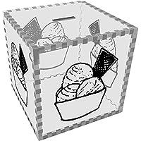 Preisvergleich für Azeeda Groß 'Eis' Klar Sparbüchse / Spardose (MB00057762)