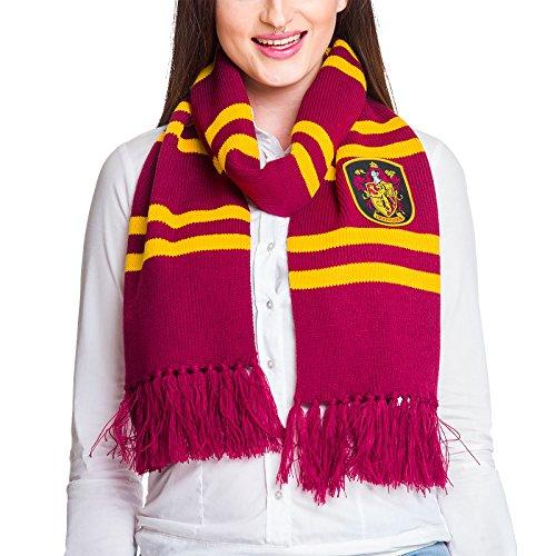 Preisvergleich Produktbild Harry Potter Gryffindor Schal 170cm Elbenwald gelb rot