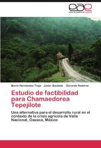 Estudio de factibilidad para Chamaedorea Tepejilote por Hernández Trejo Mario