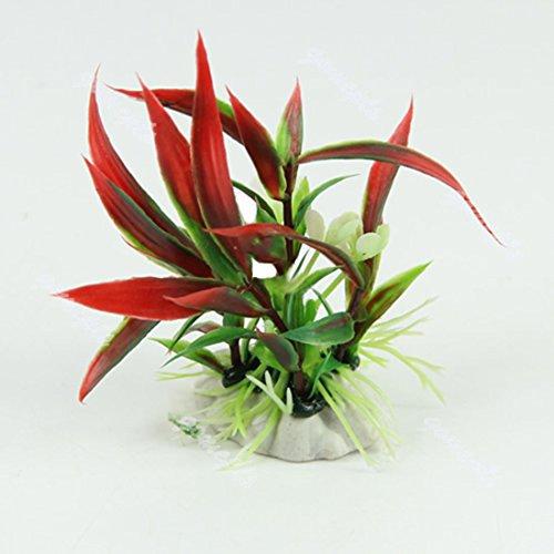 Vollter Künstliche Decor Pflanze Gras für Aquarium Landschaft Dekoration