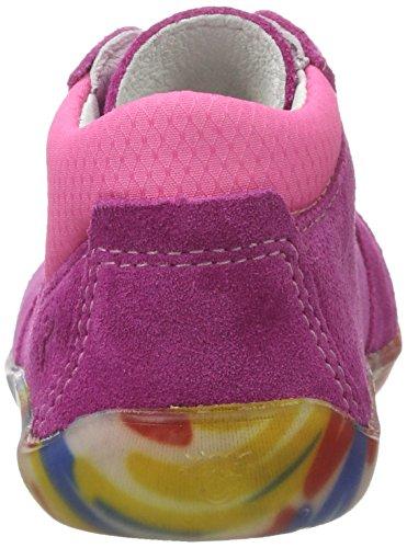 Ricosta Charlie, Chaussures Marche Bébé Fille Pink (pop/pink)