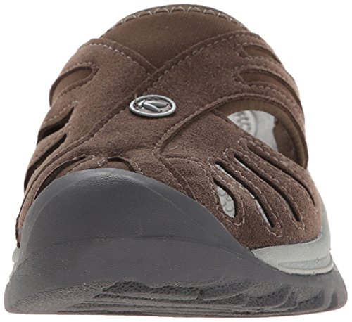 Keen Rose Slide Large Toile Sandale Cascade Brown- Neutral Grey
