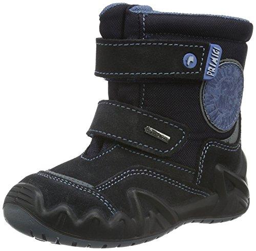 Primigi Snow-E, Chaussures Marche Bébé Garçon Bleu - Blau (NOTTE/BLUE SCU)