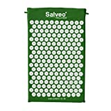 Best Acupressure Mats - Salveo Acupressure Mat Green Medium With Free Eco-Bag Review