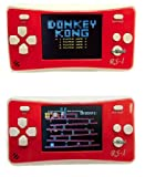 """E-WOR 2.5"""" LCD 8-Bit Retro 162x Video Games Portable Handheld Console -RED."""