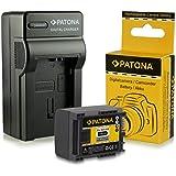 PATONA Chargeur + Batterie BP-808 pour Canon LEGRIA HF20 HF21 HF200 HG20 HG21 FS10 FS11 FS20 FS21 FS22 FS100 FS200 FS19 FS20 FS21 FS22 FS36 FS37 FS46 FS200 FS305 FS306 FS307 FS406 Canon VIXIA