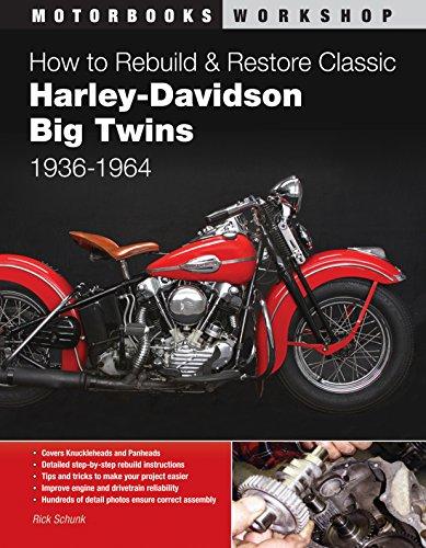 How to Rebuild & Restore Classic Harley-Davidson Big Twins 1936-1964 di Rick Schunk