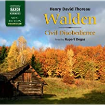 Walden/Civil Disobedience (Naxos Non Fiction)