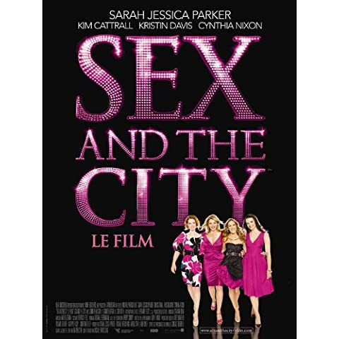 Sex and The City: The Movie Poster (27 x 40 Inches - 69cm x 102cm) (2008) French