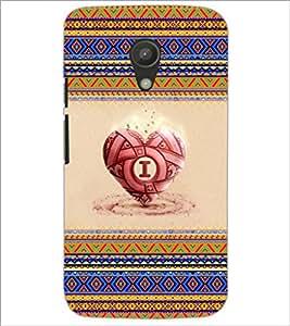 PrintDhaba Heart D-4039 Back Case Cover for MOTOROLA MOTO G2 (Multi-Coloured)