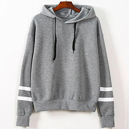 Ouneed® Pull a capuche Classique Gris