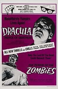 The Plague of The Zombies Affiche du film Poster Movie Le fléau des zombis (11 x 17 In - 28cm x 44cm) Style A