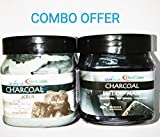 #8: Bio Care Combo of Charcoal Face and Body Scrub and Charcoal Peel off Mask (500ml each)