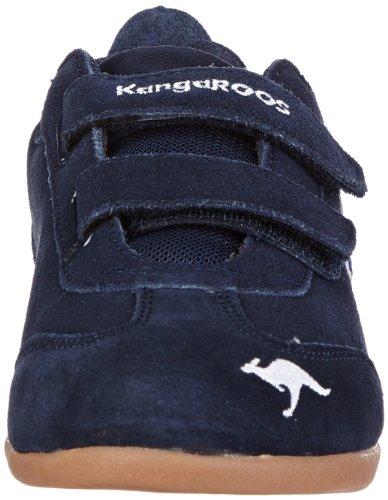 KangaROOS  Tach Low V, Chaussures de running enfant mixte Bleu - Blau (dark navy/white)