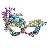 Carnival Toys Masque en Tissu Multicolore Macrame '
