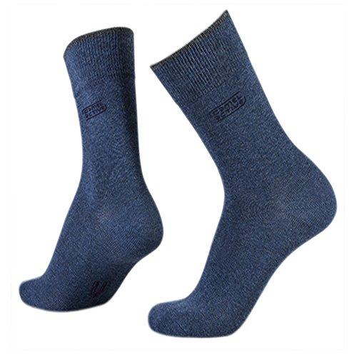 camel activ Herren Socken 3er-Pack Uni Basic 6593 / Men Socks 3pack (39-42, 430 denim melange)