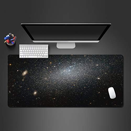 Modern minimalistische Tastatur Mauspad Advanced Advanced Naturkautschuk Schloss Pad 5 900X400X2MM (Lustige Laufende Kostüme)