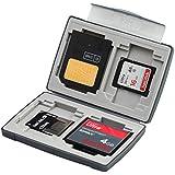 Gepe 3856 Boîtier de rangement pour 4 cartes mémoire Onyx (Import Royaume Uni) (Import Royaume Uni)