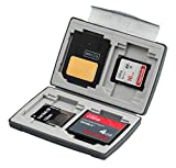 Gepe Card Safe Basic In Onyx - 4 Multi Card Compartments - 3856
