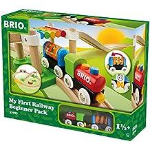 BRIO 33727 - Mein Erstes Brio Bahn Spiel Set, Zubehör