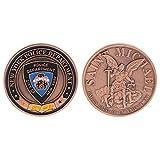 Exing Sammlermünzen Münze, Amerika-Polizei New York Saint Michael Collection Kunstgeschenke Andenkenmünzen