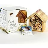 Plant Theatre, hotel per api e semi di fiori per api–confezione regalo–semi inclusi, splendido regalo per la festa della mamma