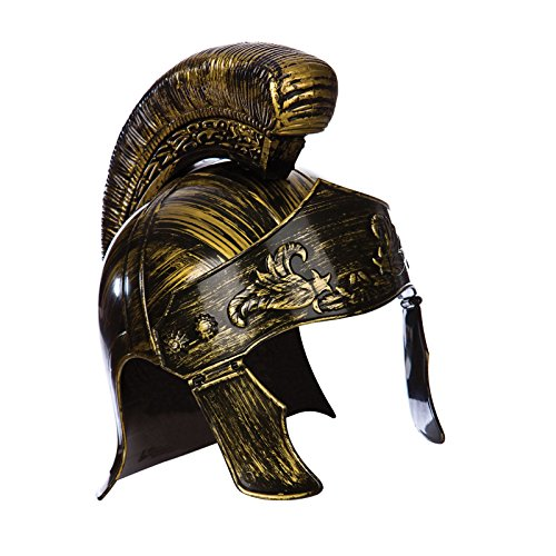 Roman Deluxe Centurion Helmet Costume Fancy Dress ()