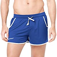 Baleaf Men's Workout Running Mesh Shorts With Pocket