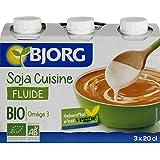 Bjorg Soja Cuisine Bio - ( Prix Par Unité ) - Envoi Rapide Et Soignée
