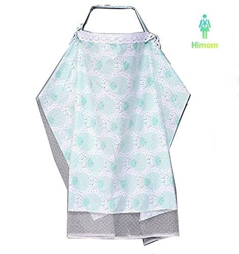 Himom Nursing Cover,Kinderwagendecke,Stillschal Stilltuch Stillschürze Tuch Abdeckung für Mädchen Junge (Abdeckung Rosa Hochstuhl)