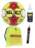 Handball-Paket Select Maxi Grip 1.0 Ballgr. 1 + Ballbeutel + Select Regrip 200 ml + ConSport Ballpumpe