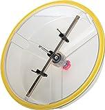 Falke Kreisschneider FKS-X (mit Schutzhaube) - Universal für Holz, Kunststoff, Gipskarton und mehr | Durchmesser stufenlos einstellbar (48 - 425 mm)