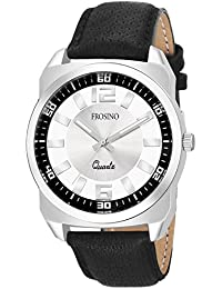 Frosino Analogue Silver Dial Men's Watch - FRAC061811