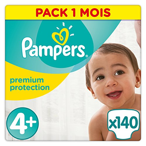 Pampers Premium Protection tamaño 4 +, 1er Pack...