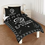 5 Seconds of Summer 5SOS Duvet Set, Black, Single