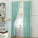 Dreamscape Polyester Blue Door Curtain