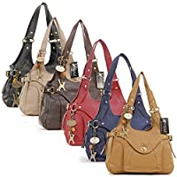 Catwalk Collection Roxanna - Bolso al hombro de piel de Catwalk Collection Handbags