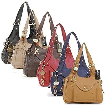 Catwalk Collection Roxanna - Bolso al hombro de piel de Catwalk Collection Handbags