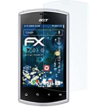 3 x atFoliX Antichoque Película Protectora Acer Liquid mini E310 Protector Película - FX-Shock-Clear