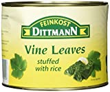 Feinkost Dittmann Griechische Weinblätter mit Reis gefüllt, 1er Pack (1 x 2 kg)