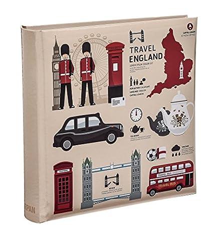 Arpan London Icons Design Travel Slip Case Memo Photo Album