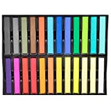 LaRoc ® Salon Quality Nontoxic Temporary Hair Chalk Colour Dye Soft Pastels DIY Kit - 24 Colour