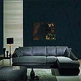 Tapeten Wandbild Aufkleber Dunkelblaues Dunkelgrünes Amerikanisches Südostasien-Wandpapiergewebe-Anzeigenwandbild Tapezieren Tannenwohnzimmer Von Tapeten