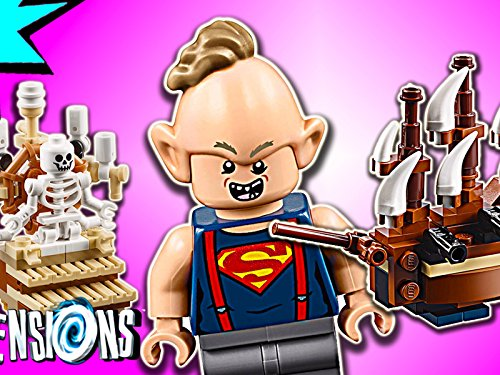 Clip: The Goonies 3 in 1 Level Pack (Lego Goonies Set)