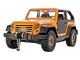 Revell 00803 Junior Kit Auto als Geländewagen, Modellbausatz für Kinder zum Schrauben, robuster Geländewagen zum Basteln und Spielen, ab 4+, kindgerecht, müheloses Verbinden weniger Teile, mit Aufklebern - OFFROADER