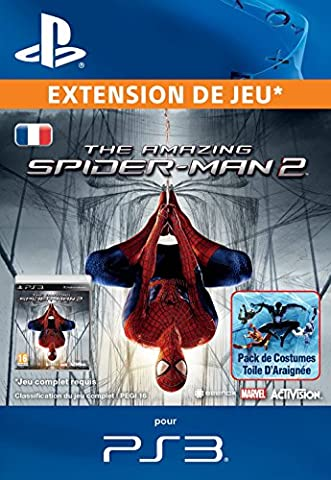 Amazing Spiderman 2 Costumes Jeu - Spiderman: Web thread suits pack - PS3