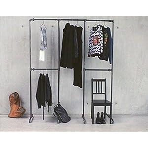 Kleiderstange Wandmontage kleiderstange wandmontage schwarz boutico de
