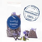 10x Lavendelsäckchen -*Frisch aus der Provence* - langanhaltender Lavendel Duft -100g getrocknete Lavendelblüten - Handverpackt in Deutschland - Duftsäckchen für Lavendelduft zum Einschlafen|